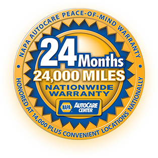 NAPA Auto Care Center Warranty | Centennial Automotive Repair