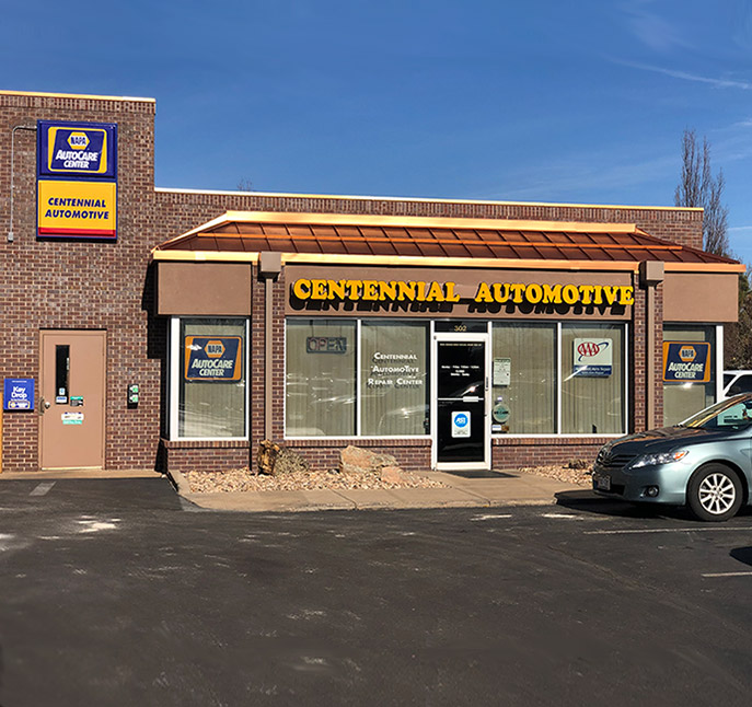 Front Shop | Centennial Automotive Repair